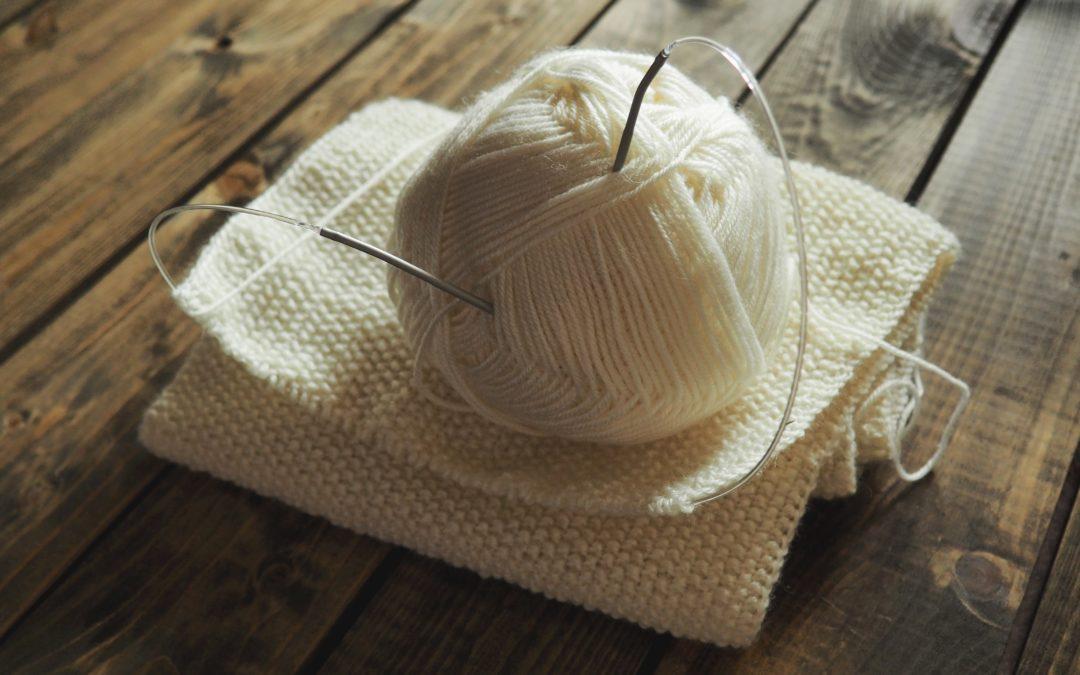 At strikke er den nye yoga
