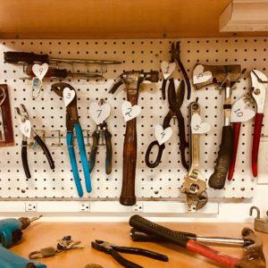 Værkstøjsstativ