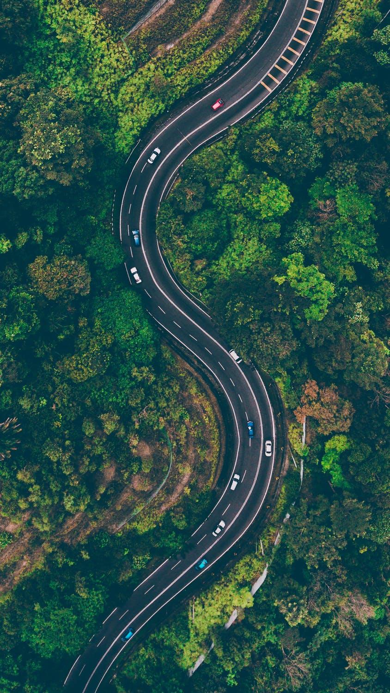Biler på vej
