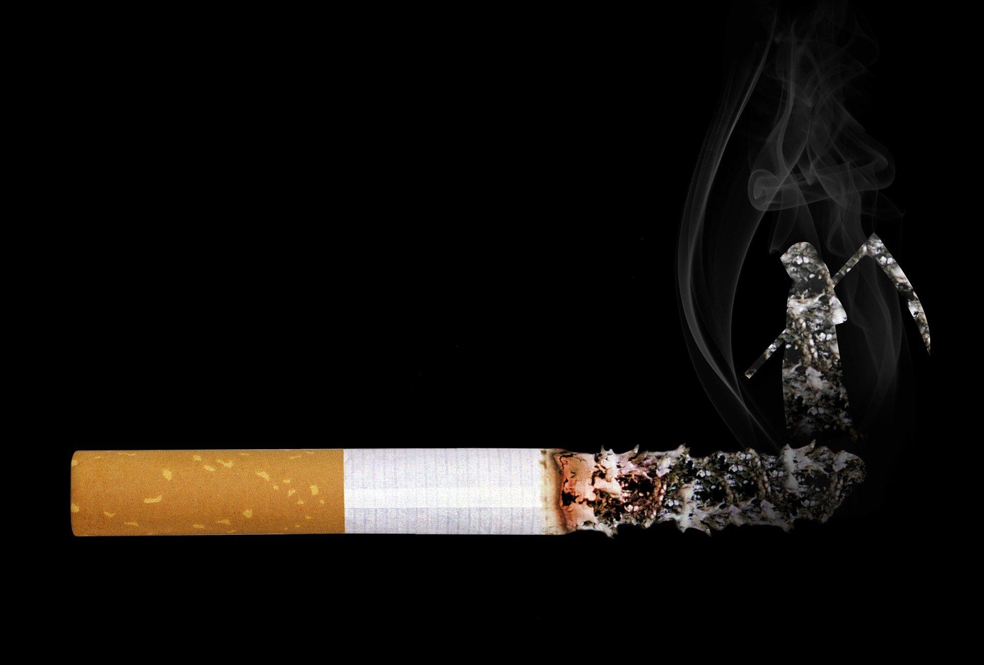 Afhængig af rygning